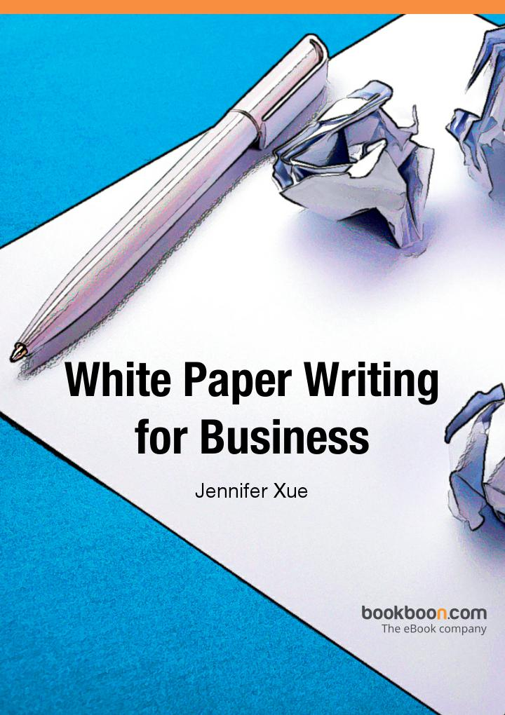 White paper writing services financials