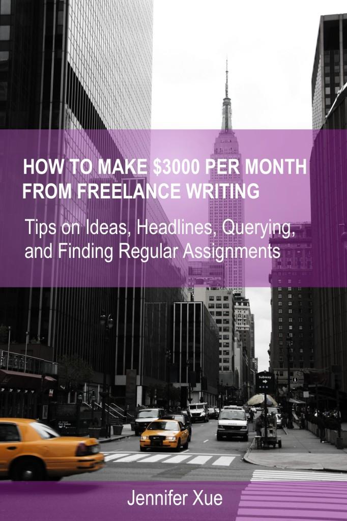 EBOOK COVER Make $3000 Writing