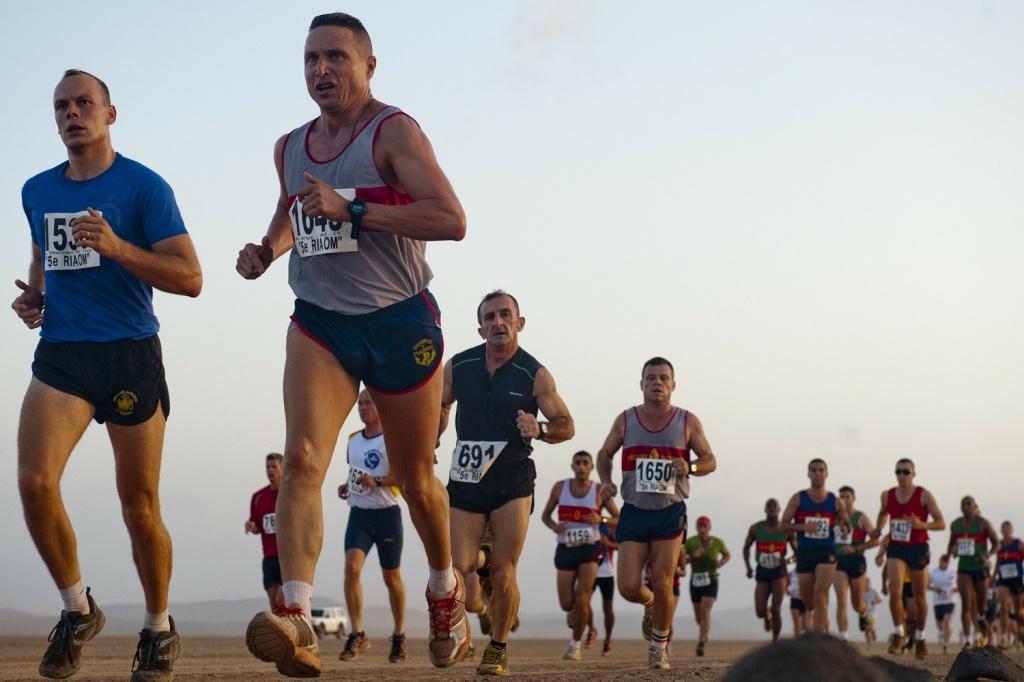 Marathon Runners 1500