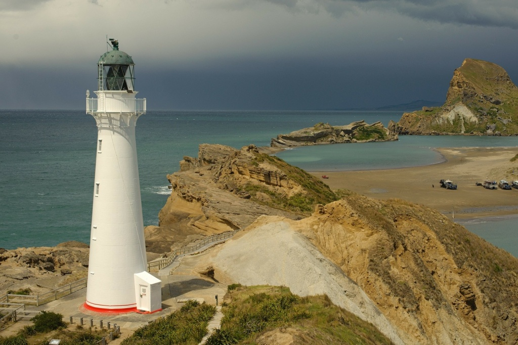 New Zealand lighthouse
