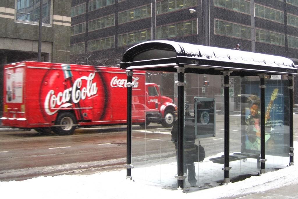 coca-cola bus