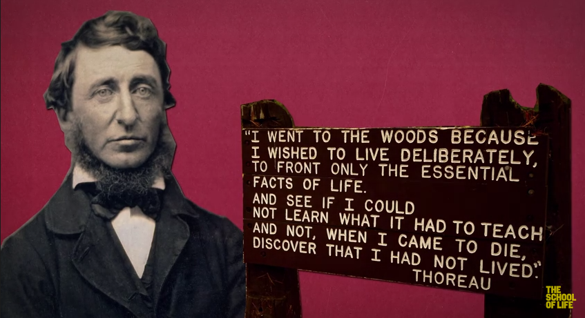 Thoreau: Self-Reliance