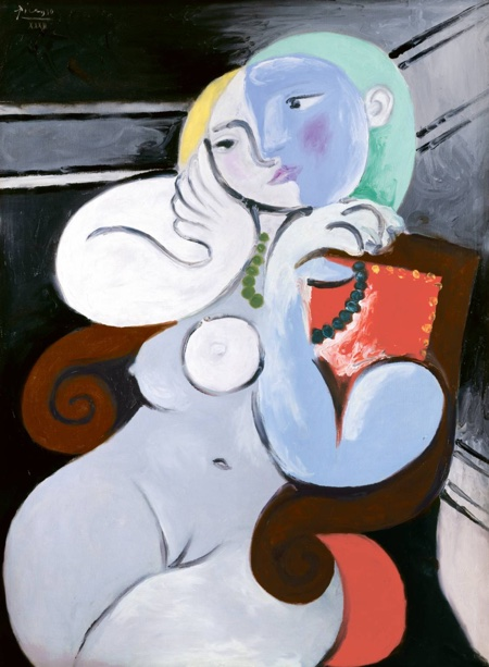 Nude Woman in a Red Armchair 1932 Pablo Picasso 1881-1973 Purchased 1953 http://www.tate.org.uk/art/work/N06205