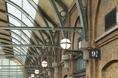 Harry Potter 9 3/4 platform