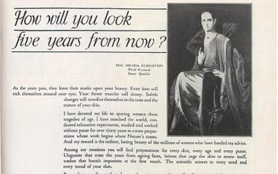 Helena Rubinstein, Pionir Kosmetika Modern