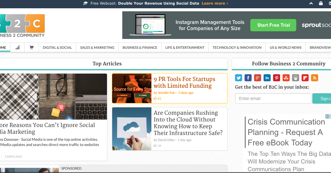 Artikel Baru: PR Tools for Startups with Limited Funding