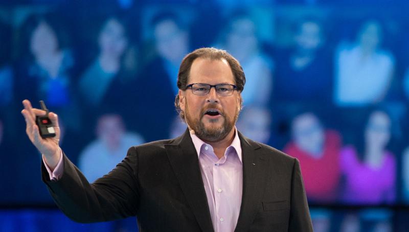 Salesforce.com dan Marc Benioff